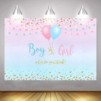 Gender Reveal Backdrop 210X150cm