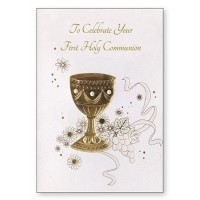 On Your First Communion - Congratulations - Pack Of 12