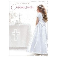 Communion Day (Girl) - Best Wishes - Pack Of 12
