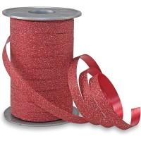 Red Glitter 5mm Curling Ribbon Franco Perro 150m