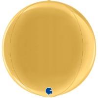 "Globe 15"" Gold 4D"
