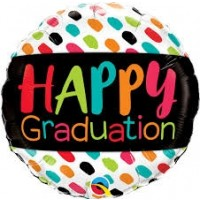 "Happy Graduation 18"" Foil Balloon"