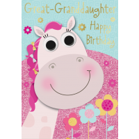 Happy Birthday - Great Granddaughter - Pack Of 12