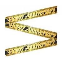 Happy Anniversary Banner 100cm