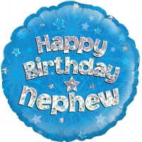 "Happy Birthday Nephew 18"" Foil Balloon"