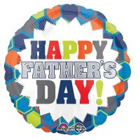 """Happy Father Day 18"""" Foil Balloon"""
