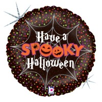 "Have a Spooky Halloween 18"" Foil Balloon"