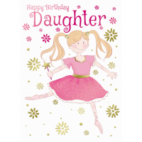 Happy Birthday - Daughter - Pack Of 12