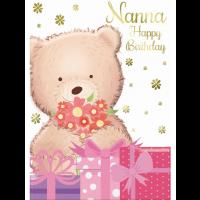 Happy Birthday - Nanna - Pack Of 12