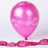 Happy Birthday Pink 100ct