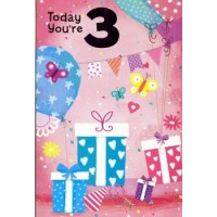 Age 3 - Girl - Pack Of 12