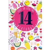Age 14 - Girl - Pack Of 12