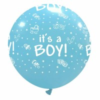 "It's a Boy 32"" Superior Latex Balloon 1Ct"