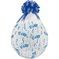 "It's a Boy 18""  Clear Stuffing Balloon 10ct"