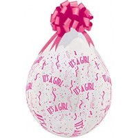 "It's a Girl 18""  Clear Stuffing Balloon 10ct"