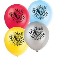 "Batman 12"" Latex Balloons"