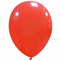 "Light Red 7"" Latex Balloons 100Ct"