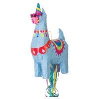 "Llama Pull Pinata 20""H x 6.5""W"