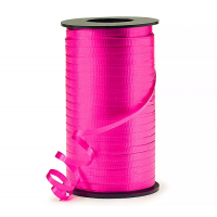 Hot Pink Curling Ribbon 500m