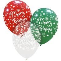 "Superior Merry Christmas 12"" Latex 25ct"