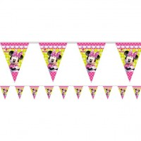 Minnie Happy Helpers Flag Banner