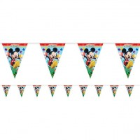 Playful Mickey Flag Banner 1CT