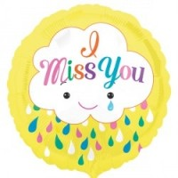 "I Miss You - 18"" foil balloon"