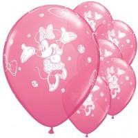 "Minnie Happy Helpers 11"" Latex Balloons 8ct"