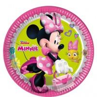 Minnie Happy Helpers 23cm Plates 8ct