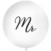 "Mr - Script 32"" Latex Balloon 1ct"