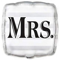 "MRS. SQUARE 18"" FOIL BALLOON"