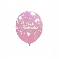 "Crozier 5"" 'On My Confirmation' Pink 100ct"