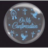 "Crozier Blue 'On My Confirmation' - Bubble - 24"" (unpackaged)"