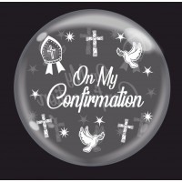 "Crozier White 'On My Confirmation' - Bubble - 24"" (unpackaged)"