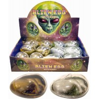 Giant Alien Egg with Baby 8.5cmX5.5cm 12pcs
