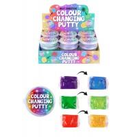 Colour Changing Putty 7cmX5cm 24pcs