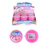 Glitter Unicorn Poo Slime 7cmX2cm 24pcs