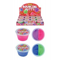 Two Tone Bouncing Putty 30G 7cmX4cm 12pcs