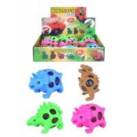 Squeeze Dinosaur W/ Beads 12pcs