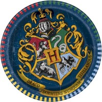 "Harry Potter 7"" Plates 8ct"