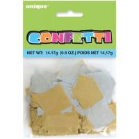 Gold/Silver Paper Confetti 14g