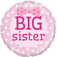 "Big Sister - 18"" Foil Balloon"