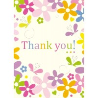 #73 Greeting Cards - Thank you 12pk