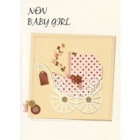 #85 Greeting Cards - Baby Girl 12pk