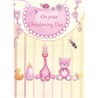 #88 Greeting Cards - Christening 12pk