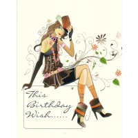 #24 Greeting Cards - Open Female 12pk