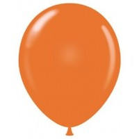 "12"" Orange Latex Balloons 100ct"