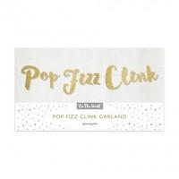 Pop Fizz Clink Gold Garland