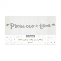Silver Prosecco Time Stitch Garland 1.5m