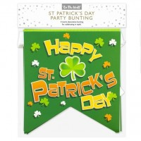 St Patrick's Day Flag Bunting 4m